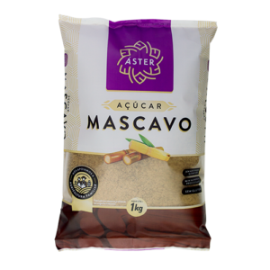 60750 - ACUCAR MASCAVO 1KG ASTER